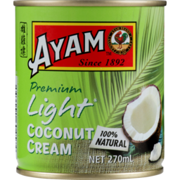 Photo of Ayam Light Coconut Cream 270ml 270ml