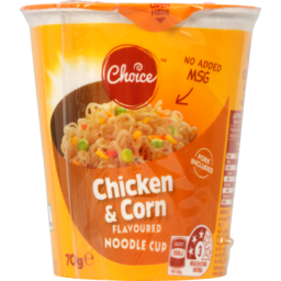 Photo of Choice Noodle Cup Chicken & Corn 70g