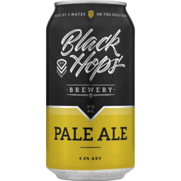 Photo of Black Hops Pale Ale Cans