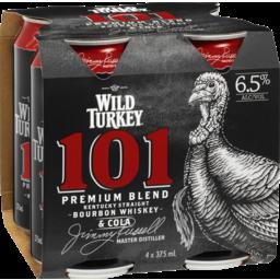 Photo of Wild Turkey 101 Bourbon & Cola Cans