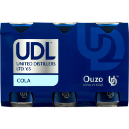 Photo of UDL Ouzo & Cola Cans
