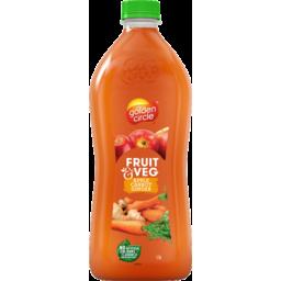Photo of Golden Circle Fruit & Veg Apple, Carrot & Ginger Juice 1.5l