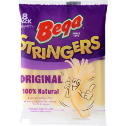 Photo of Bega Cheese Stringerpeelable 160g