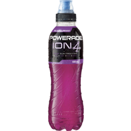 Photo of Powerade Ion4 Blackcurrant Sports Drink Sipper Cap 600ml
