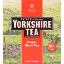 Photo of Taylors Of Harogate Yorkshire Tea Proper Black Tea 220g 220g