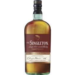 Photo of The Singleton Malt Masters Single Malt Scotch Bottle