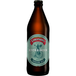 Photo of Emerson's Bookbinder Session Ale 500ml