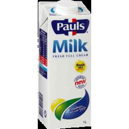 Photo of PAULS FRESH FULL CREAM MLK 1LT