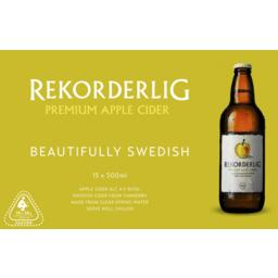 Photo of Rekorderlig Apple Cider Bottles