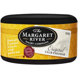 Photo of The Margaret River Dairy Company Original Club Cheddar 150gm