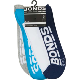Photo of Bonds Sock Men Trainer Sz11+ 3pk