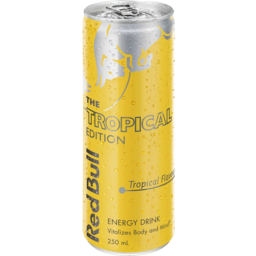 Photo of Red Bull The Tropical Edition 250ml