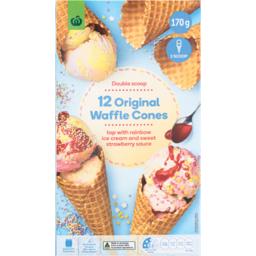 Photo of WW Cone Waffle Plain 12 Pack
