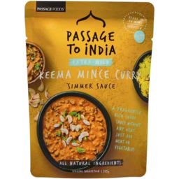 Photo of Passage To India Extra Mild Butter Chicken Simmer Sauce 375gm