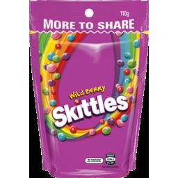 Photo of Skittles Wild Berry 110g