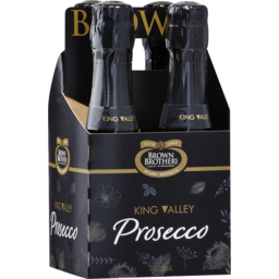 Photo of Brown Brothers Prosecco Nv 4x200ml