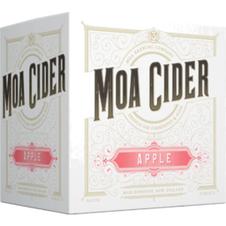 Photo of Moa Apple Cider 12 Pack