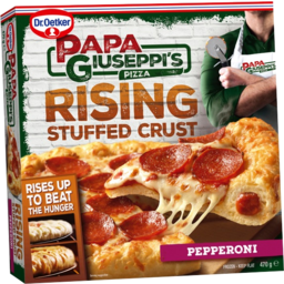 Photo of Papa Giuseppi's Stuffed Crust Pepperoni 470gm