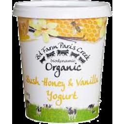 Photo of Paris Creek Biodynamic Yoghurt Bush Honey & Vanilla 1kg