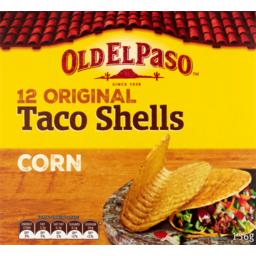 Photo of Old El Paso Taco Shells 12 Original 156g