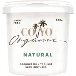 Photo of CoYo Organic Natural Coconut Yoghurt Dairy Free 300g
