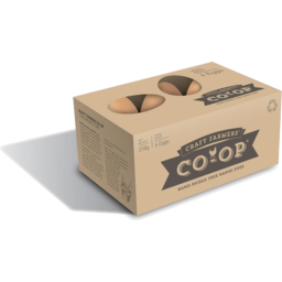 Photo of Craft Farmers Co-Op Eggs Free Range Mixed Grade 6 Pack