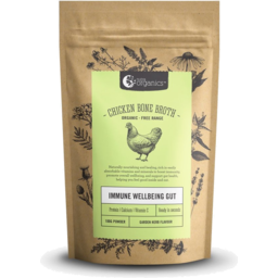 Photo of Nutra Organics - Chicken Broth - Immune Wellbeing Gut - Garden Herb - 100g