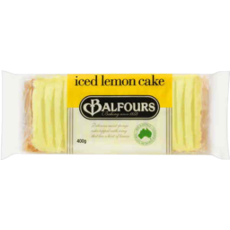 Photo of Balfours Iced Lemon Cake 400gm