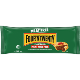 Photo of Four N Twenty Plant Based Meat Free Pies 4 Pack 700g