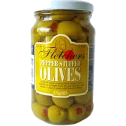Photo of Fletchers Olives Stuffed #375gm