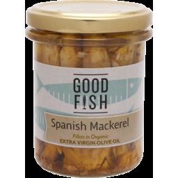 Photo of Good Fish Mackerel in Olive Oil Jar 195g