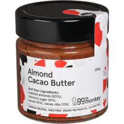 Photo of 99th Monkey Almond Cacao Butter