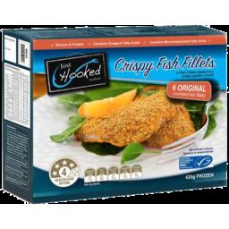 Photo of Just Hooked Crispy Fish Fillets Original 425gm