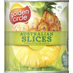 Photo of Golden Circle Australian Slices Pineapple In Juice 440g