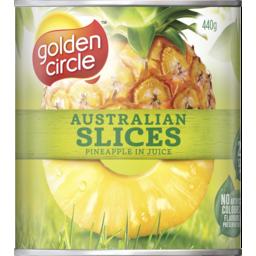 Photo of Golden Circle® Australian Slices Pineapple In Juice 440g