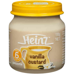 Photo of Heinz Smooth Vanilla Custard 110g