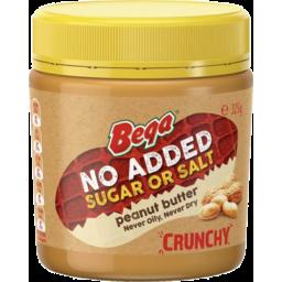 Photo of Bega Nas Peanut Butter Crunchy 325gm