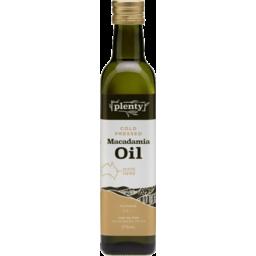 Photo of Plenty - Macadamia Oil - 375ml