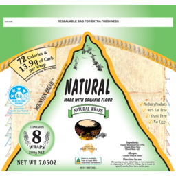 Photo of Mountain Bread Natural Organic 200g