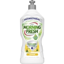 Photo of Morning Fresh Antibacterial Lemon Dishwashing Liquid 650ml