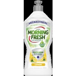 Photo of Morning Fresh Antibacterial Lemon Dishwashing Liquid 650ml
