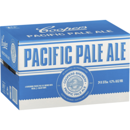 Photo of Coopers Pacific Pale Ale Bottles - 24 X 375ml