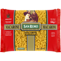 Photo of San Remo Macaroni 500g