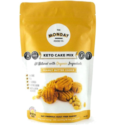 Photo of The Monday Food Co - Keto Cake Mix - Peanut Butter Cookie - 250g