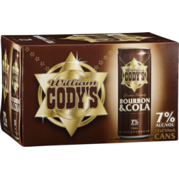 Photo of Cody's Bourbon & Cola 7%