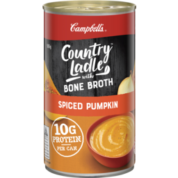 Photo of Campbell's Country Ladle Soup Spiced Pumpkin With Chicken Bone Broth 505g