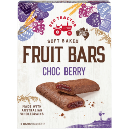 Photo of Red Tractor Soft Baked Choc Berry Fruit Bars 6 Pack 180g