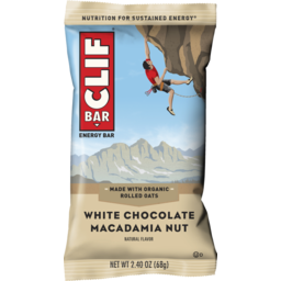 Photo of Clifbar White Choc Macadamia 68g
