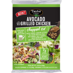 Photo of Taylor Farm Salad Kit Avocado Ranch with Chicken 270g