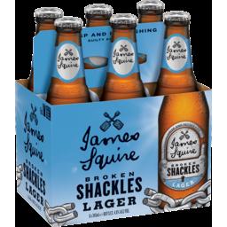 Photo of James Squire Broken Shackles Bottles